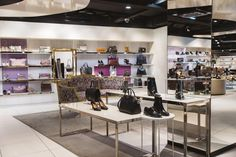 STEFFL Department Store Vienna - Women's Shoe Paradise  Credit: Maximilian Salzer Photography Department Store, Vienna, Paradise, Vanity, Shoe, Flooring, Photography, Furniture, Home Decor
