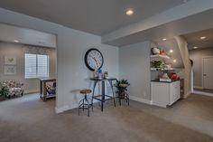 Cozy nook area in the lower level! #Fresco