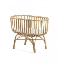 Beautiful rattan cradle that brings a bohemian atmosphere to your home. Made from natural rattan and crafted to the highest standard this beautiful crib is sure to make a style statement in any nurser Rattan, Rainbow Room, Mattress Covers, Boho Baby, Baby Decor, Kids House, Bassinet, Kids Room, Unisex