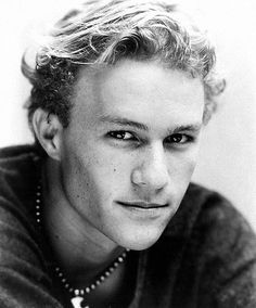 """I just want to stay curious."" —Heath Ledger"