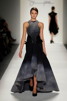 Jusil Caroll - Made with Supima Denim Fabric Fashion Week 2011