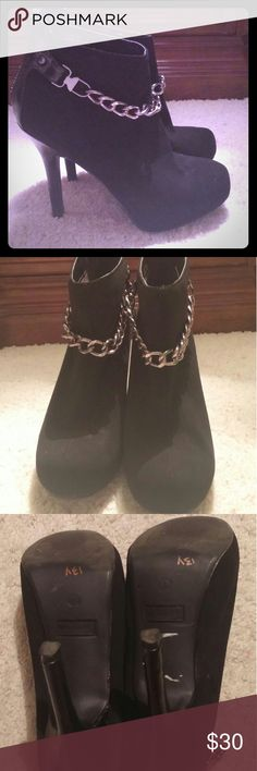 Madeline girl Booties size 6.5M Used couple of times, like new Madeline girl  Shoes Ankle Boots & Booties