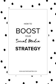 How To Boost Your Social Media Strategy: Save People Time - Heather Crabtree