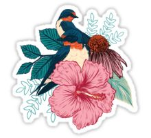 New design by Mat Miller: Barn Swallows Tumblr Stickers, Cool Stickers, Printable Stickers, Laptop Stickers, Planner Stickers, Tumblr Drawings, Art Folder, Aesthetic Stickers, Art Tutorials