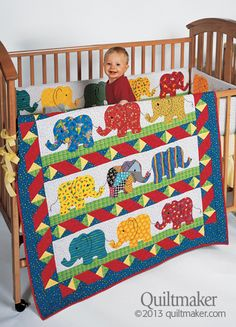 Elmer the patchwork elephant quilt Quilt Baby, Cot Quilt, Baby Quilt Patterns, Elephant Quilts Pattern, Elephant Applique, Baby Elefant, Patchwork Baby, Animal Quilts, Manta Crochet