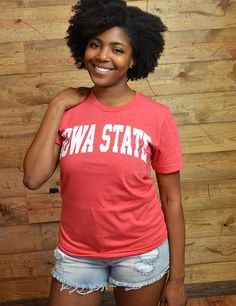 Hey Iowa State! This is a great comfy tee to show your ISU pride and you can even dress it up!