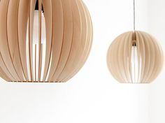 AION Pendelleuchte aus Holz Lampe aus Holz by IUMIDESIGN on Etsy