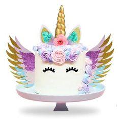 Taartversieringen | Cupcake-store and More! First Birthdays, Unicorn, Birthday Cake, Cupcakes, Party, Desserts, Kids, Food, Anna