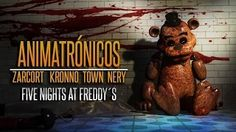 ANIMATRÓNICOS RAP | Five Nights at Freddy's | ZARCORT-KRONNO-NERY-ITOWN - FNAF - YouTube