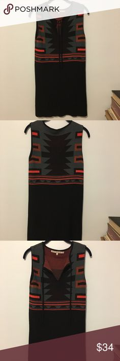 RACHEL Rachel Roy Aztec Tribal Sweater Dress M Adorable tribal print dress by Rachel Roy. Sweater-like material. Excellent preloved condition. No issues to note! I lined but very heavy/thick and not see through. RACHEL Rachel Roy Dresses Mini