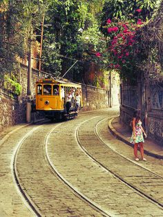 I lived here and rode the 'bonde' (tram) in Santa Teresa, Rio de Janeiro, Brasil. Such an amazing city. Cidade maravilhosa indeed. Places Around The World, Oh The Places You'll Go, Travel Around The World, Places To Travel, Travel Destinations, Places To Visit, Around The Worlds, Wonderful Places, Beautiful Places