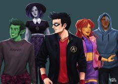 Teen Titans, go!