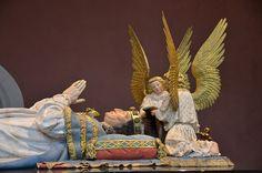 Tombeaux des ducs de Bourgogne (cénotaphe de Philippe-le-Hardi) Palais des Ducs et des Etats de Bourgogne .Musée des Beaux-Arts. Dijon (Côte-d'Or) - Bourgogne