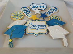 Grad cookies by Aunty Cookie's Sweet Treats