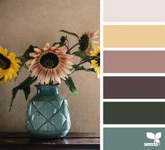 { flora palette } image via: @myfrenchcountrygarden