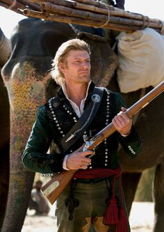 "British soldier-hero Richard Sharpe (Sean Bean) comes out of retirement to quash a rebellion in British India and rescue an old friend in ""Sharpe's Challenge."""