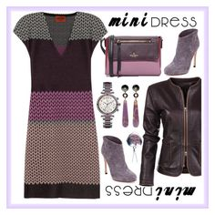 My mini dress by amisha73 on Polyvore featuring moda, Missoni, Gianvito Rossi, Kate Spade, Wendy Yue, Gc and Tiffany & Co.