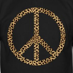 Leopard + Peace = Happiness