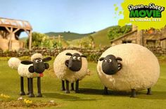 Shaun the sheep and friends Cartoon Town, Sheep Cartoon, Shaun The Sheep, Cute Sheep, Adult Cartoons, Game Design, Goats, Artsy, Animation