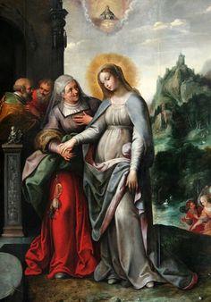Intravit Maria in domum Zachariae, et salutavit Elisabeth.