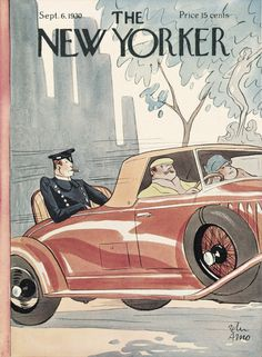 Peter Arno, Cover of The New Yorker, September 6, 1930