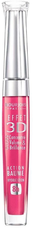 Pin for Later: 70 Fab Beauty Stocking Fillers For £10 and Under Bourjois Effect 3D Lipgloss Bourjois Effect 3D Lipgloss in Rose Dynamic (£8)