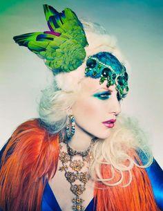 Photography: Sequoia Emmanuelle  Head dress: Plumed Serpent   Model: Nickie Jean