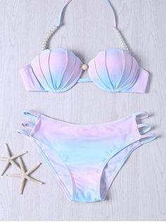 GET $50 NOW | Join RoseGal: Get YOUR $50 NOW!http://m.rosegal.com/bikinis/stylish-beaded-halter-neck-color-ombre-bikini-set-551734.html?seid=bmp0cp6f55n6af23kbpl0p6f56rg551734