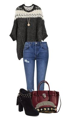 Untitled #337 by mercedes-designs on Polyvore featuring polyvore, fashion, style, Topshop, Jessica Simpson, Michael Kors, Bling Jewelry, Phyllis + Rosie and clothing
