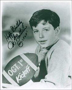 """Sponsored - Jerry Mathers """"The Beaver"""" Football Signed Auto Photo Autograph Jerry Mathers, Tony Dow, Leave It To Beaver, Football Signs, Star Pictures, Old Tv Shows, To Loose, Hollywood Stars, Favorite Tv Shows"""