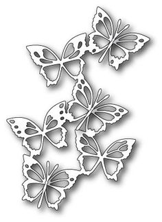 Memory Box - Die - Fairyland Butterflies: