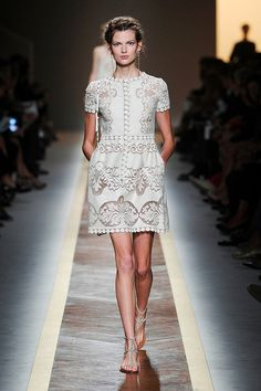 Valentino Spring 2012 gorgeous gorgeous gorgeous! love the color