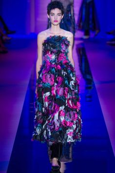 Armani Privé Fall 2015 Couture Fashion Show - Maartje Verhoef (Women)