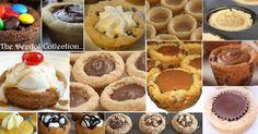 Granny's Cookie Cups.... https://grannysfavorites.wordpress.com/2015/04/18/grannys-cookie-cups/