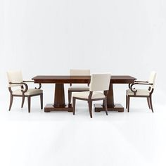 Mayfair Double Pedestal Dining Table - Dining Tables - Furniture - Products - Ralph Lauren Home - RalphLaurenHome.com
