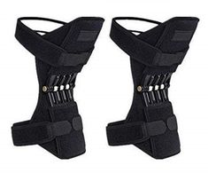 New MAMaiuh Power Lift Joint Support Knee Pads Powerful Rebound Spring Force Adjustable Bi-Directional Straps Joint Pain Relief, Arthritis Injury Recovery, Meniscus Tear online - Findhitstoday Squat, Braces Bands, Knee Brace, Knee Pain, Rebounding, Velcro Straps, Pain Relief, Legs, 70 Lbs