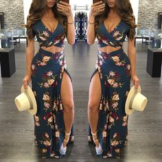 Luau Outfits, Cute Summer Outfits, Skirt Outfits, Spring Outfits, Summer Dresses, Sexy Work Outfit, Casual Dresses, Fashion Dresses, Homecoming Dresses