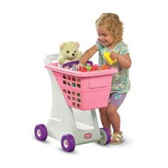 Amazon.com: Little Tikes Shopping Cart - Pink: Toys & Games