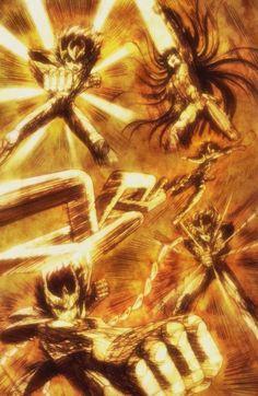 Los legendarios caballeros de bronce   Saint Seiya
