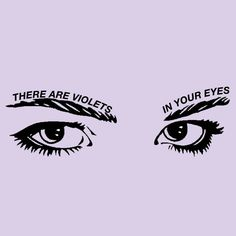 Lana Del Rey / Honeymoon // the violets explode inside me when I meet your eyes // Elbow / Starlings