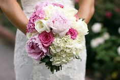 This bride has a prettier version of the flowers I wanted!