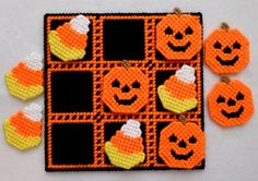 Tic-Tac-Toe Game  Halloween Treats by gailscrafts on Etsy