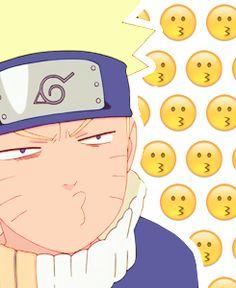 The many faces of Naruto