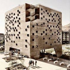 UDP Economics Building, Santiago, Chile Architects: Duque Motta