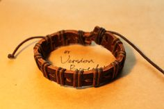 Shop for on Etsy, the place to express your creativity through the buying and selling of handmade and vintage goods. Mens Braids, Braided Leather, Crafting, Reading, Trending Outfits, Unique Jewelry, Bracelets, Handmade Gifts, Books