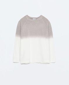 SWEATSHIRT TYE-DYE da Zara REF. 0264/073