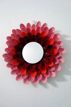 10 Creative Mirror Frame Ideas - DIY