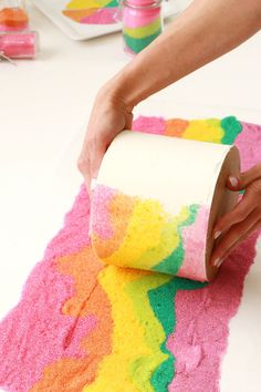 Sand Art Cake – A Beautiful Mess