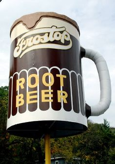 At the Drive-in restaurant in Taylors Falls, Wisconsin, this giant mug of root beer draws in thirsty customers.    Read more: http://www.nydailynews.com/life-style/world-largest-roadside-attractions-gallery-1.39761#ixzz2EcqUK4Qg