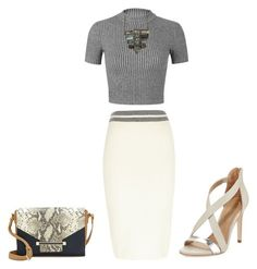 A fashion look from April 2015 featuring cropped shirts, River Island and high heeled footwear. Browse and shop related looks. Classy Outfits, Chic Outfits, Spring Outfits, Fashion Outfits, Work Fashion, Womens Fashion, Office Outfits, Office Wear, Work Outfits
